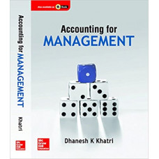 Accounting for Management Paperback – 1 July 2017