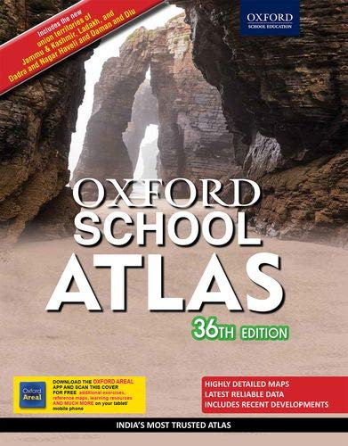 Oxford School Atlas: India's Most Trusted Atlas 36th edition Paperback – 25 February 2020