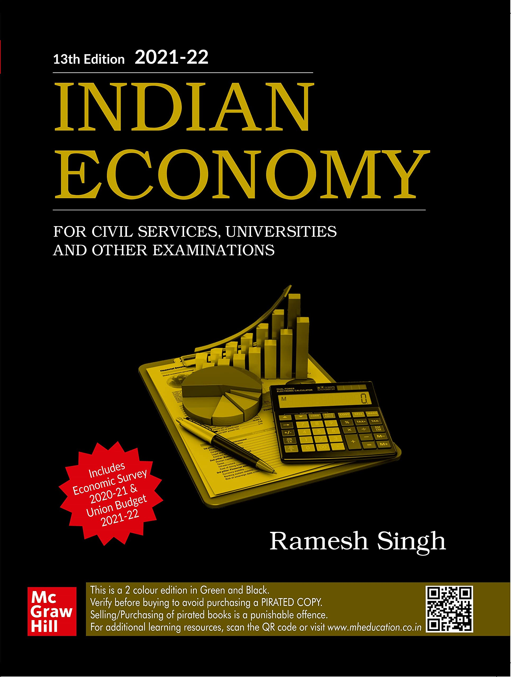 INDIAN ECONOMY For Civil Services, Universities and Other Examinations | 13th Edition Paperback – 5 May 2021