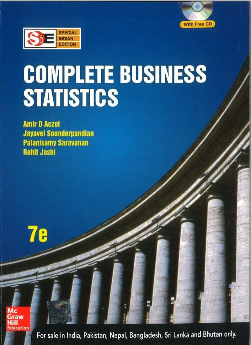Complete Business Statistics Paperback – 1 July 2017