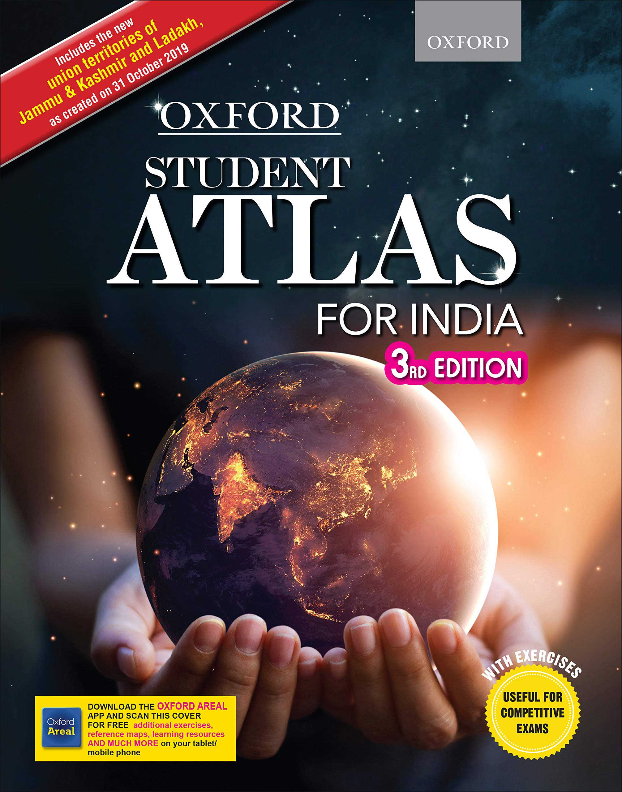 Oxford Student Atlas for India - Third Edition Paperback – 1 December 2019