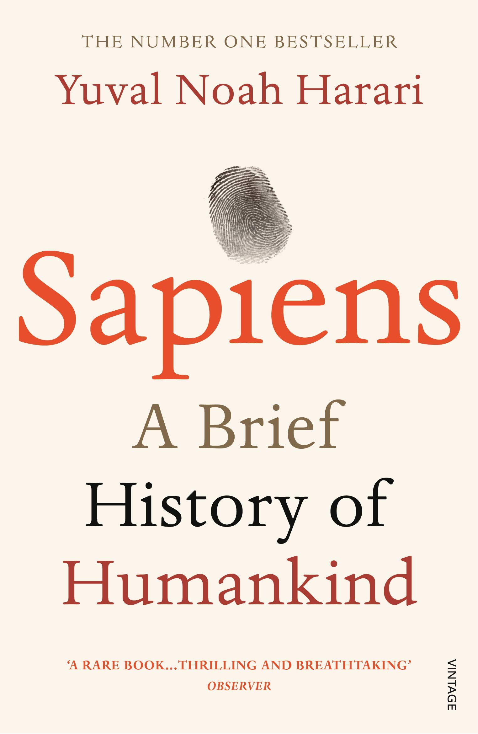 Sapiens: A Brief History of Humankind Paperback – 11 June 2015