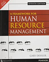 A FRAMEWORK FOR HUMAN RESOURCE MGMNT