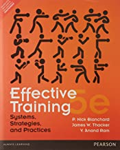 EFFECTIVE TRAINING 5/E.
