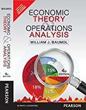 ECONOMICS THEORY AND OPERATIONS ANALYSIS