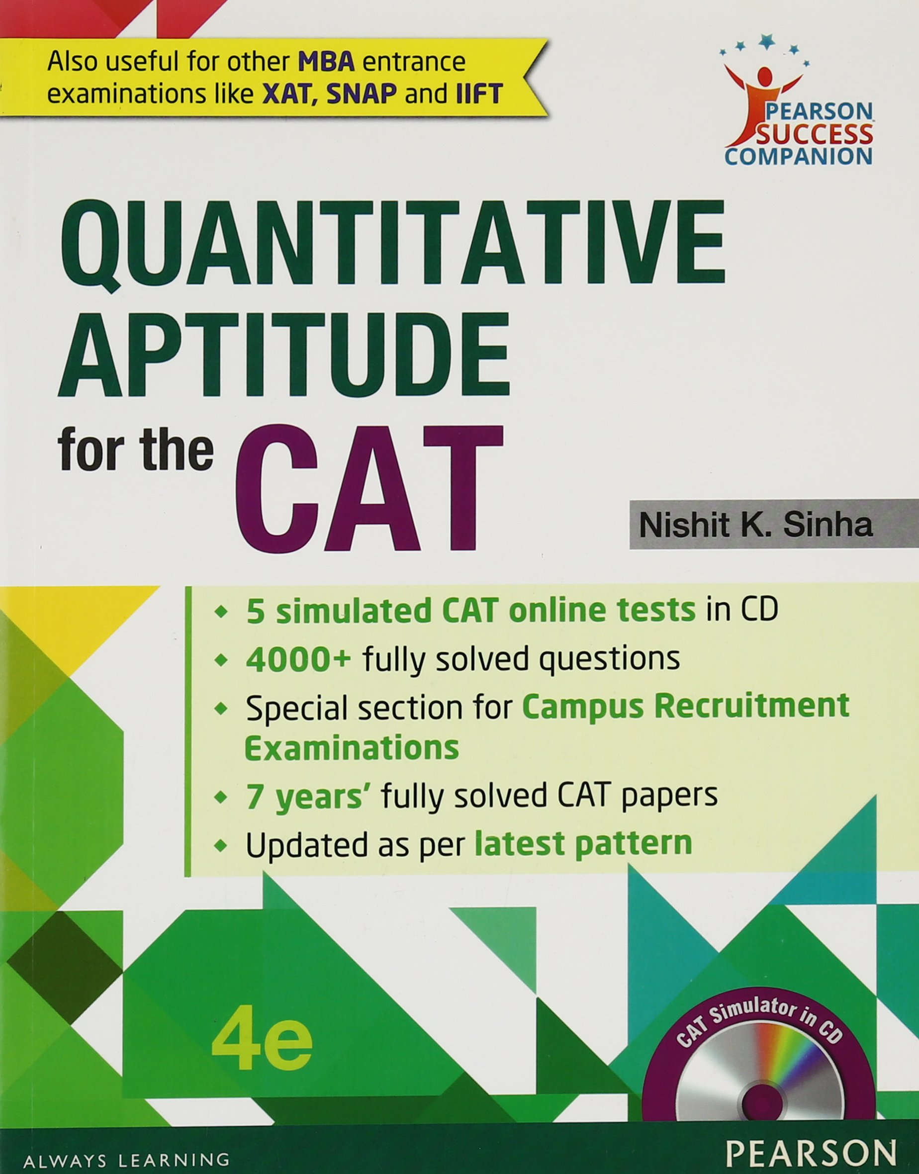 Quantitative Aptitude for the CAT (Old Edition) Paperback – 30 May 2016