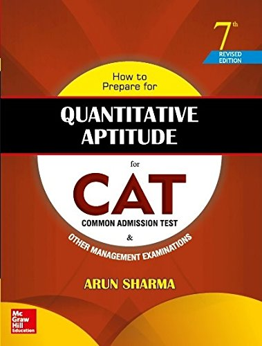 How to Prepare for Quantitative Aptitude for the CAT (Old Edition) Paperback – 1 June 2016