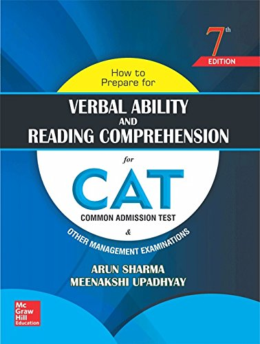 How to Prepare for Verbal Ability and Reading Comprehension for CAT (Old Edition) Paperback – 4 August 2016