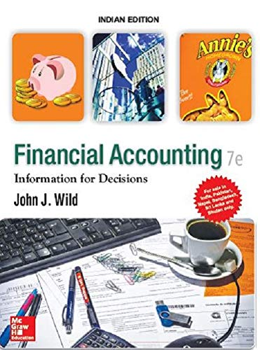Financial Accounting: Information For Decisions Paperback – 19 April 2017