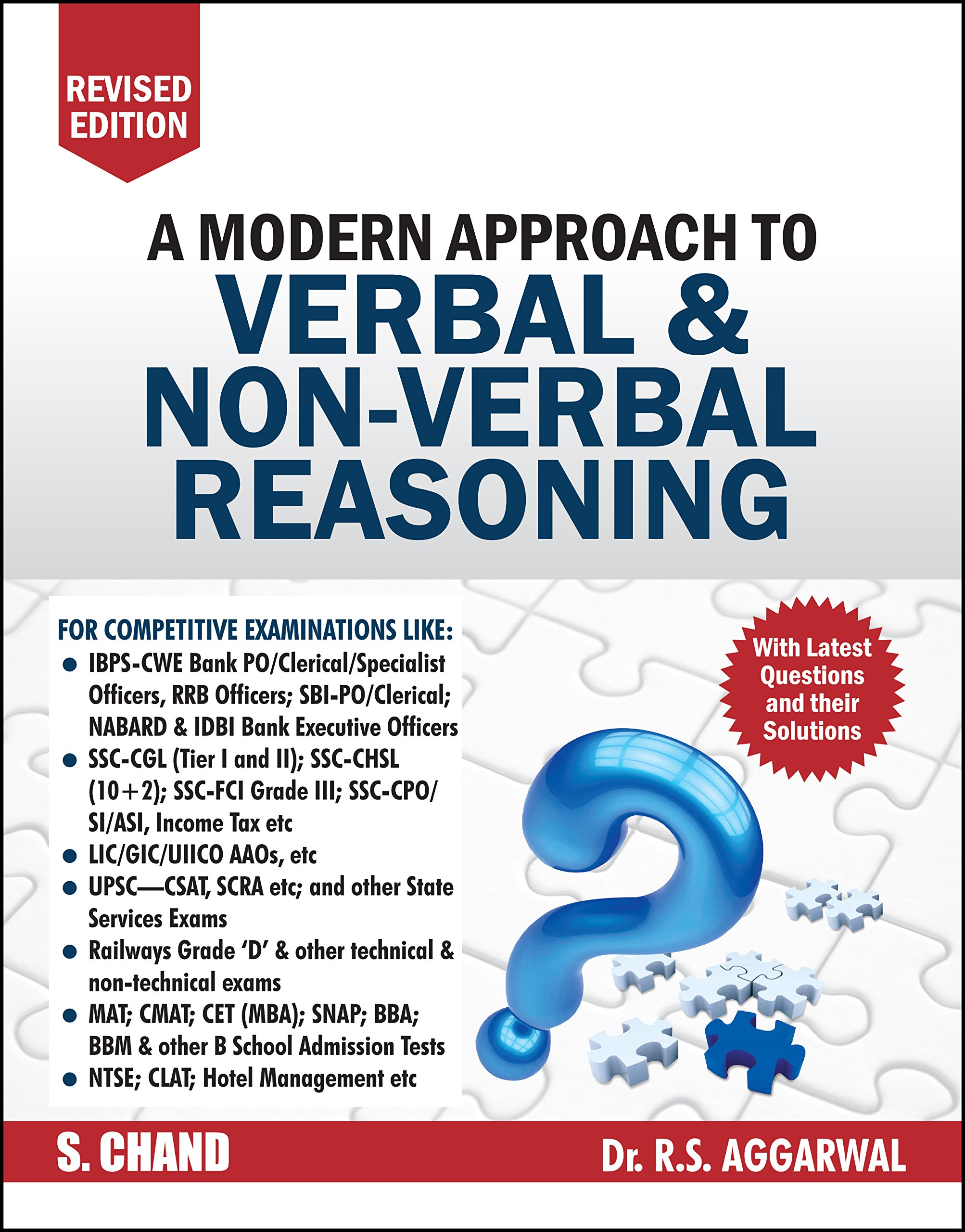 A Modern Approach to Verbal & Non-Verbal Reasoning (2 Colour Edition) Paperback – 1 January 2018