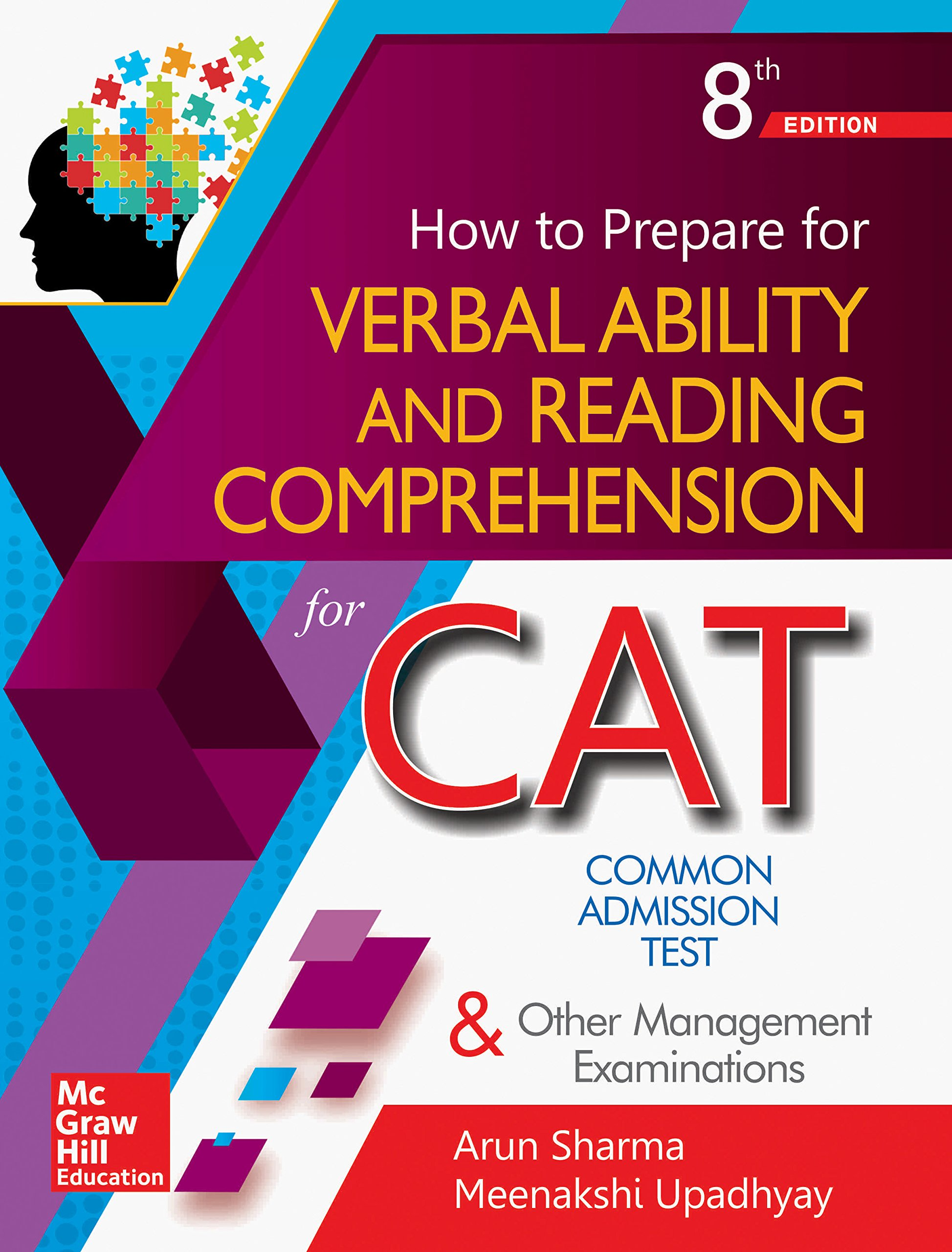 How to Prepare for Verbal Ability and Reading Comprehension for the CAT Paperback – 5 June 2018