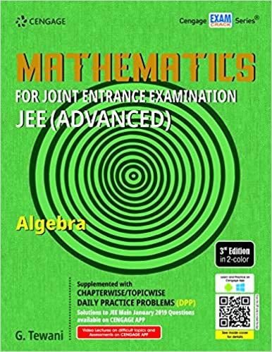 MATHEMATICS FOR JEE (ADVANCED): ALGEBRA, 3ED