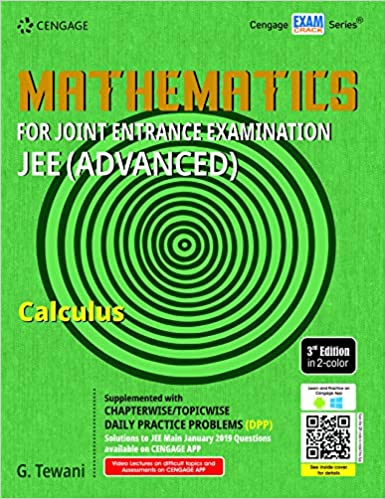 MATHEMATICS FOR JEE (ADVANCED): CALCULUS, 3ED