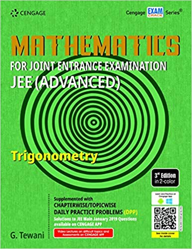MATHEMATICS FOR JEE (ADVANCED): TRIGONOMETRY, 3ED