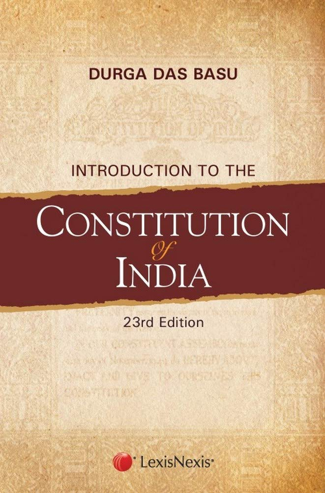 Introduction to the Constitution of India Paperback – 25 September 2018