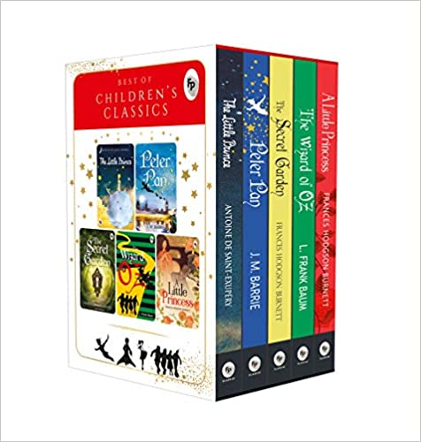Best of Children's Classics (Set of 5 Books): Perfect Gift Set for Kids Paperback – 1 August 2019