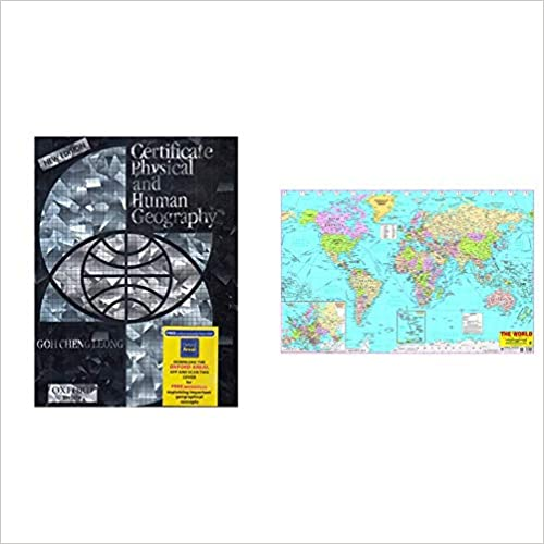 Certificate Physical And Human Geography; Indian Edition + World Map (Set of 2 Books) Product Bundle