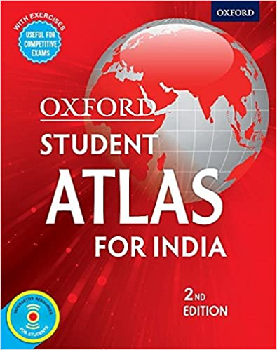 Oxford Student Atlas for India, Competitive Exams 2nd Edition Paperback – 1 October 2017