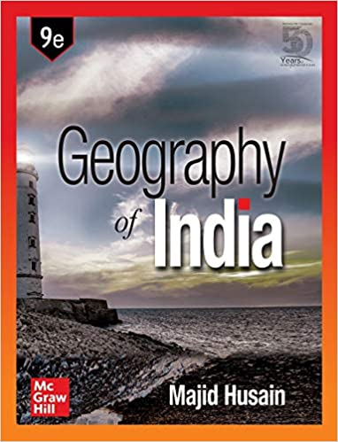 Geography of india - 9th Edition Paperback – 15 July 2020