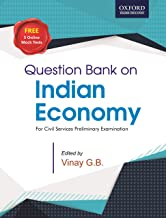 Question Bank on Indian Economy: for UPSC and State Civil Services Examinations Paperback – 1 November 2019