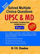 Solved Multiple Choice Questions UPSC & M.D. Entrance Examination: 1 Paperback – 1 February 2012