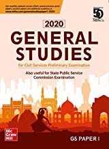 General Studies Paper 1 2020 : for Civil Services Preliminary Examination and State Examinations