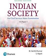 Indian Society | For Civil Services Main Examination | GS Paper 1 | Second Edition | By Pearson Paperback – 30 June 2019