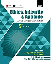 Ethics, Integrity & Aptitude : For Civil Services Examination 5e 2019 Paperback – 18 October 2019