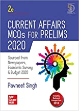 Current Affairs MCQs for Prelims 2020 | Second Edition Paperback – 1 March 2020