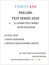 [Test 1 to 35 English] Vision IAS Prelims Test Series with Answer Explanation 2020 Paperback – 1 January 2020