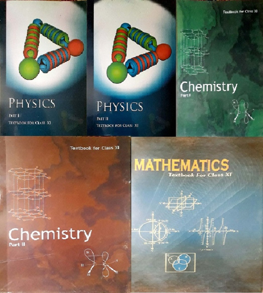Physics Part 1 & 2, Chemistry Part -1 & 2 And Mathematics Textbook For Class - 11 ( Set Of 5 Books Ccombo ) Unknown Binding – 1 January 2018