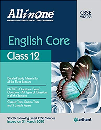 CBSE All In One English Core Class 12 for 2021 Exam Paperback – 16 July 2020